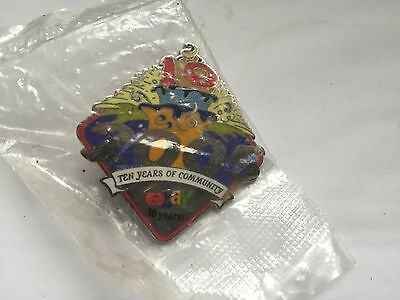NEVER OPENED eBay Live 2001 Auctions for America 10 Years Pin