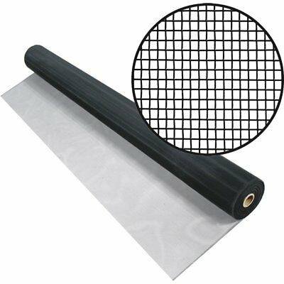 60-inch x 100-Feet Black Aluminum Screen Cloth Window Screening