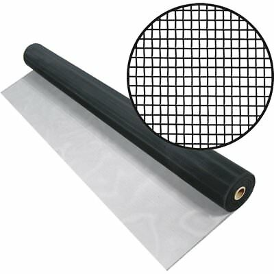 48-inch x 100-Feet Black Aluminum Screen Cloth Window Screening