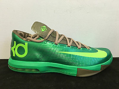 b311bdb4e6d5 Nike KD VI 6 BAMBOO 11.5 US Gamma Green Aunt Pearl What The MVP Kevin Durant