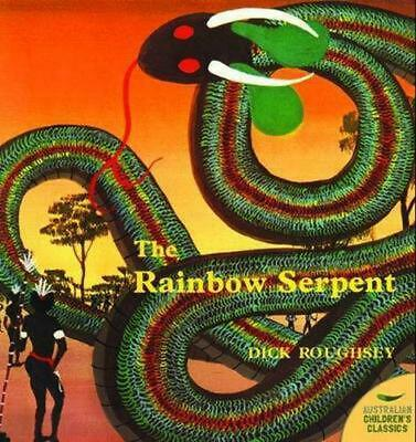 Rainbow Serpent by Dick Roughsey Paperback Book Free Shipping!