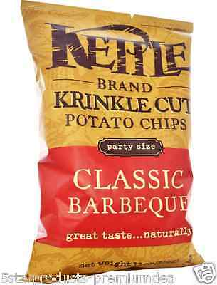 New Kettle Foods Finest Potato Chips Snack Natural Daily 0 Trans Fat Gluten Free