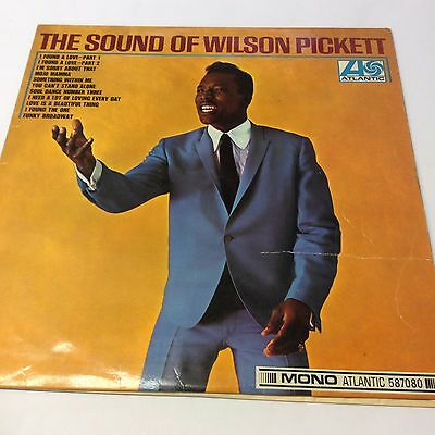 Wilson Pickett 'The Sound of' VG/G Atlantic Soul Classic Vinyl LP 12""