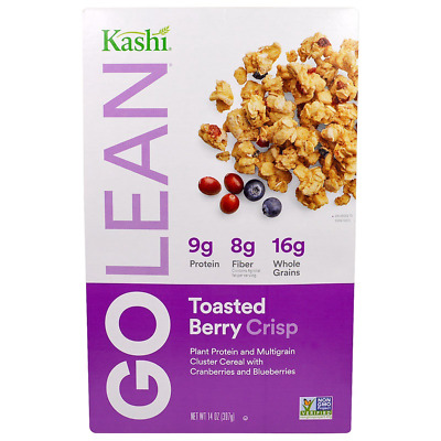 New Kashi Golean Crisp! Naturally Sweetened Multigrain Cluster Cereal Toasted