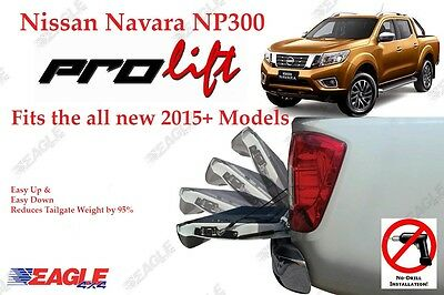Nissan Navara NP300 Tailgate Assistant 2016+ Easy Down Easy Up Stystem UK STOCK
