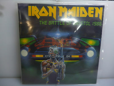 Iron Maiden-The Battle Of Bristol 1986.uk 86-2Lp Green Vinyl+ Booklet-New.sealed