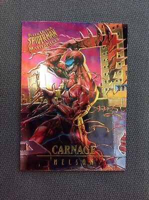 1995 Fleer Ultra Spiderman Masterpieces Carnage #2