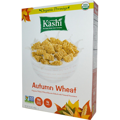 New Kashi Autumn Wheat Organic Whole Wheat Biscuit Cereal Organi Grains Snacks