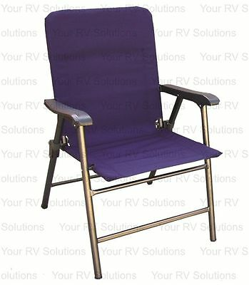 Prime Products Elite Series Folding Chair, California Blue