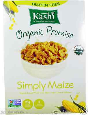 New Kashi Organic Promise Simply Maize Crispy Whole Corn Flakes Whole Grain Care