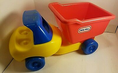 Vintage Little Tikes Dump Truck red / yellow