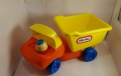 VINTAGE LITTLE TIKES DUMP TRUCK TODDLE TOTS people Playset