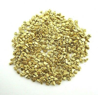 Alaskan Yukon BC  Gold Nuggets  18 -16  Mesh 5 GRAMS OF CLEAN GOLD FLAKES