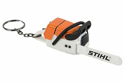 STIHL Chainsaw Keyring with Realistic Battery Operated Sound Novelty