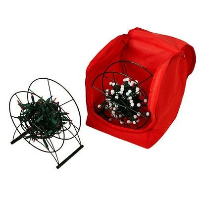 Storeasy Christmas Light Storage Reel Set with 2 reels and storage bag