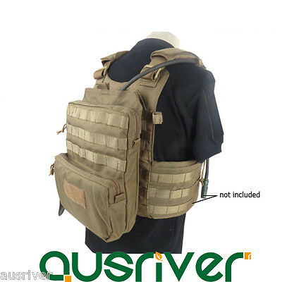 Molle Accessory Bag Hydration Backpack for Military Tactical Vest Combat SWAT