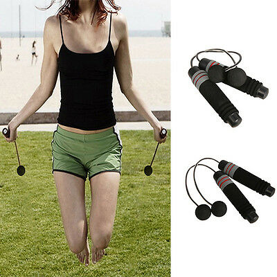 Wireless Indoor home Cordless Burning Calorie Jump Rope Skipping Fitness GYM DSU