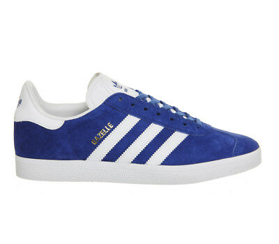 Adidas Gazelle COLLEGIATE ROYAL WHITE Trainers Shoes