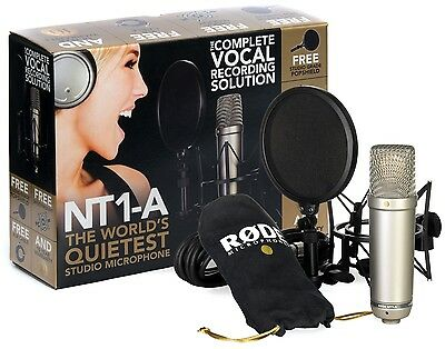 Rode NT1-A (NT1A) Vocal Recording Pack + Accessories!