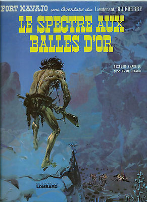 Rare Eo 1972 Jean Giraud + Charlier Blueberry N° 12 : Le Spectre Aux Balles D'or