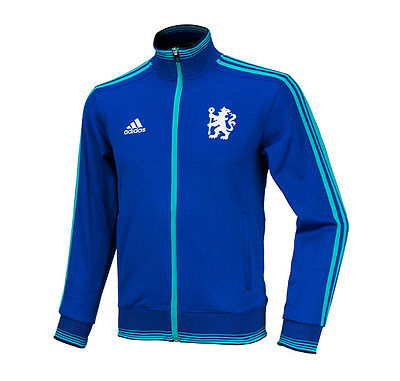 505fcd2a7 Adidas Chelsea FC Track Top Training Jacket AA6797 Soccer Football Wear  Jackets