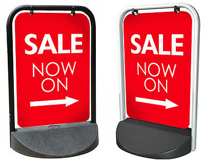 SALE NOW ON SIGN Swinger Pavement ALUMINIUM DISPLAY, Shop Sign, Sale sign