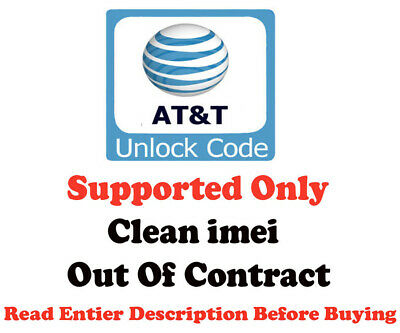 FACTORY UNLOCK SERVICE AT&T USA Kyocera Hydro Air C6745 |  CLEAN IMEI SUPPORTED