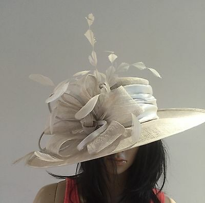 Nigel Rayment Couture Grey Wedding Occasion Hat Mother Of The Bride