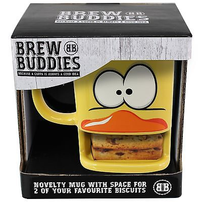 Duck Mug with Biscuit Holder