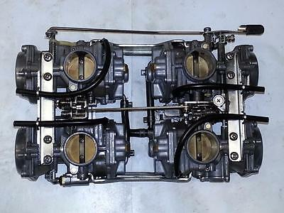 Yamaha 1985 - 2007 Vmax V Max Vmx12 Mikuni 35Mm Rebuilt Carburetors Carbs