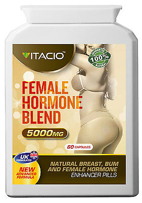 Breast, Bum And Hips Enlargement Female Hormone Blend 10:1 Extract 5000 Pills