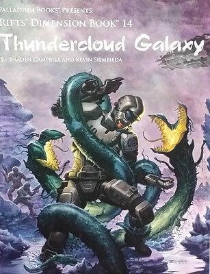 RIFTS: Thundercloud Galaxy Book 14 RPG Sourcebook PAL 0883