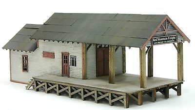 Building & Structure Co S Scale Red Mountain Freight Laser Kit 141S