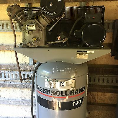Ingersoll Rand Air Compressor T30 5 HP