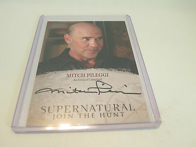 Mitch Pileggi as Samuel Campbell Supernatural Trading Cards Seasons 4-6