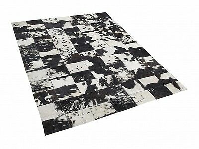 New Cowhide Rug Leather. Animal Skin Patchwork Area Carpet