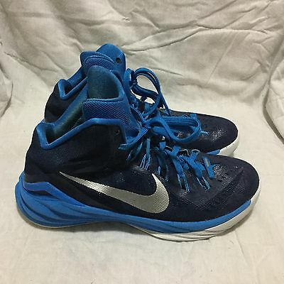 Women's Nike Hyperdunk Basketball Shoes - Blue White ( Size 9.5 )