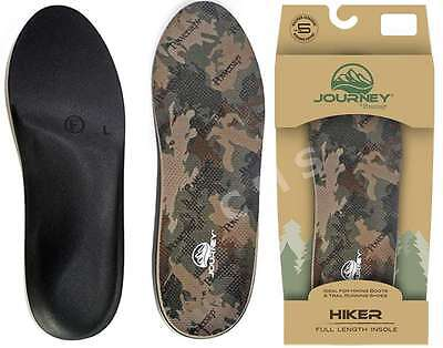 POWERSTEP JOURNEY HIKER Military Camouflage Hunting Hiking Work Boot Insoles USA