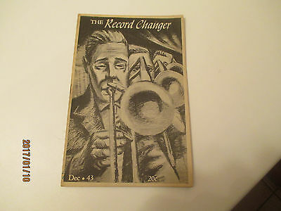 Vintage December 1943 The Record Changer Small Edition