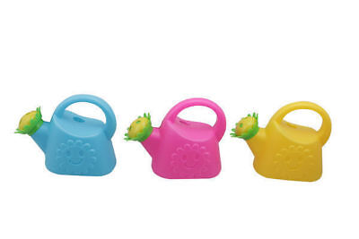 48 x Watering Cans with Sunflower Head Kids 3 colours Gardening  Wholesale Lot