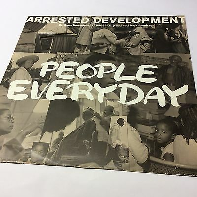 Arrested Development 'People Everyday' VG/VG Cooltempo Vinyl Single 12""