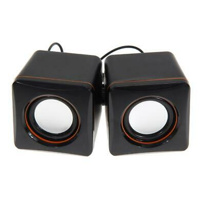 1PC USB 3.5mm Stereo Mini Speaker Subwoofer for Desktop Laptop Notebook Tablet