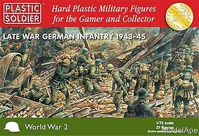 PLASTIC SOLDIER COMPANY 72nd Late War German Infantry 1944-45