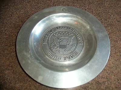 Pewter Plate House of Representatives
