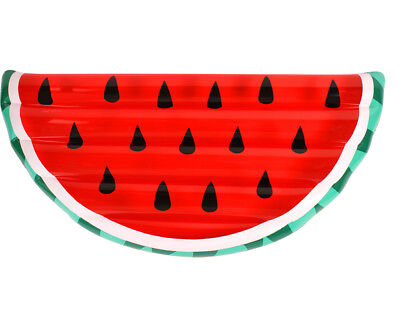 1 giant watermelon slice 178x90cm pool beach toy relax on water