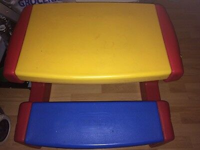 childrens Little Tikes Play And Eat Table