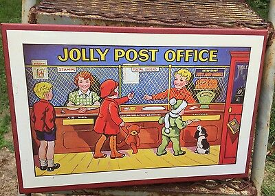 British/canadian Jolly Post Office Board Game