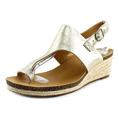 Lucky Brand Janessa   Open-Toe Leather  Slingback Sandal