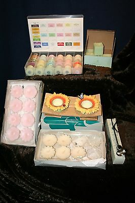 PartyLite Votives and Tea Light candles 48 pcs total Lot I New in boxes