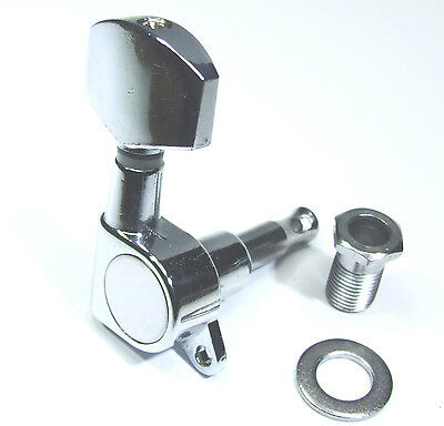 Chrome Guitar Machine Head Tuner Tuning Peg Electric Acoustic Left / Right